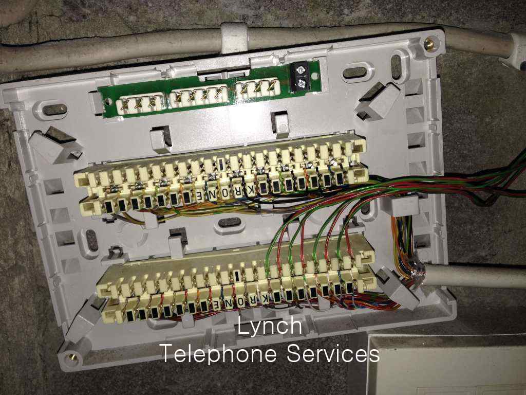 krone termination box lynch telephone services image gallery work we have completed kone wiring diagram at gsmx.co