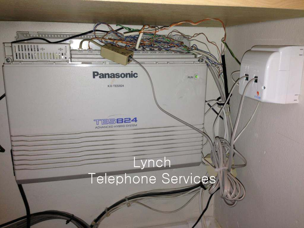 Lynch Telephone Services Image Gallery Work We Have Completed On Sockets Wiring Messy Pabx